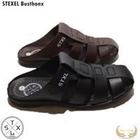 STEXEL Sandal Sepatu Pria Casual Sendal Cowok Bustong Kronjo Original