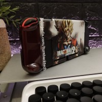 Fit Dock DRAGONBALL Nintendo Switch Mika Case / Casing red blue