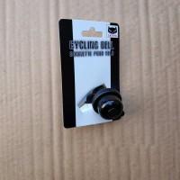 Cateye Wind Bell Pb 1000 Black Cat Eye Cycling Bell Hitam Bel Sepeda