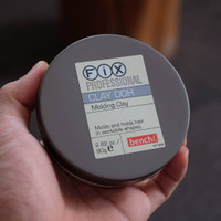 Hair Wax Fix Professional Clay Doh Molding Pomade Original Impor 80g