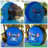 Helm bogo dewasa gambar karakter stitch