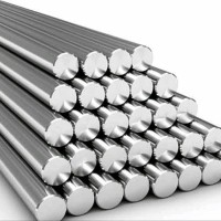 As solid stainless steel 1-1/4 inch x 150 mm as stenlis pader full rod