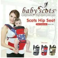Baby Scots Hipseat Print Character BSG1101 / Gendongan Hipseat Murah