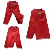 Grosir Murah Cesar Sarcel Celana Sarung Anak Merah