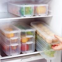 Kotak Penyimpanan Lemari Es Laci Baki Kotak Penyimpanan Makanan