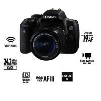 camera canon 750d dslr kit 18-55