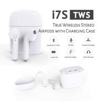 Airpods Headset Bluetooth 4.2 Sport True Wireless HBQ i7s Twins