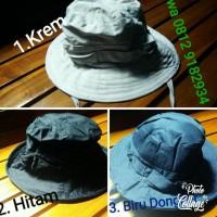 BEST SELLER Topi gunung dan topi rimba promosi - Hitam TERJAMIN