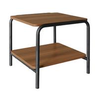 Side Table - Teak Wood Black