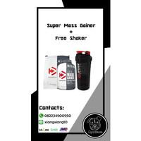 Dymatize Super Mass Gainer 6Lbs Weight Gainer Supermass BPOM DNI