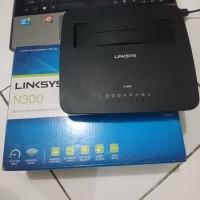 Router Linksys X1000 N300 Fullset