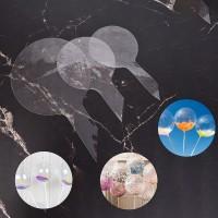 10Pcs Balon dengan Bahan Kertas dan Warna Transparan untuk Hiasan