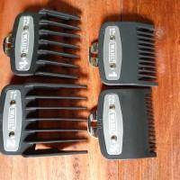 Set sepatu PLAT besi wahl cukur rambut 4 ukuran