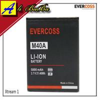 Baterai Handphone Evercoss M40A Xtream 1 Mini Double Power Evercoss