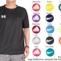 kaos polos oblong nike adidas olahraga dryfit polyester