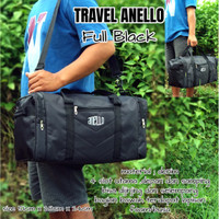 travel bag pria Anello tas pakaian tas olahraga tas mudik tas besar