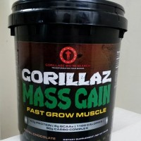 Gorillaz Mass Gainer 15 lb Chocolate Gorillabz Gain