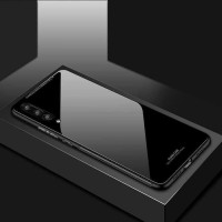 luxury case casing Vivo y17 y 17 back cover tempered glass tpu