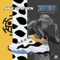 Skechers D'lites 3.0 One Piece Trafalgar Law Sneakers Premium Original