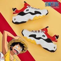 Skechers D'lites 3.0 x Monkey D.luffy Sneakers Man Premium Original