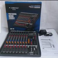 AUDIO MIXER ASHLY AX8N/AX 8N ( 8CH FULL )USB,MP3,BLUETOOTH