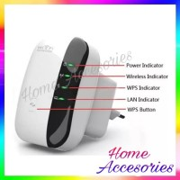 300Mbps Signal Extender Booster Wireless-N AP Range 802.11 WiFi Repeat