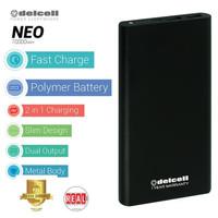 Powerbank Power Bank Delcell Neo 10000 mAh Alloy Real Capacity