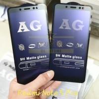 Anti Blue Light Matte Tempered Glass 5D Ambigo Xiaomi Redmi Note 5 Pro