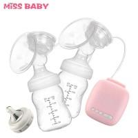 Murah Miss Baby Pompa ASI Elektrik Double Milk Breast Pump - MZ-702T