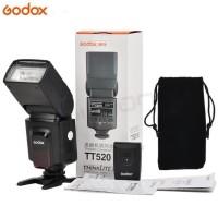 flash godox TT520 II wireless trigger(universal speedlite flash)