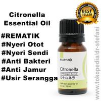 Essenzo Citronella Essential Oil-10mL Meringankan Rematik   Nyeri Otot