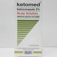 Ketomed Scalp Solution 60Ml. ( Shampo Anti Ketombe )