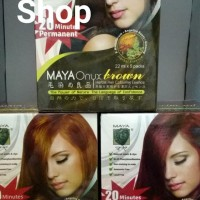 Maya Onyx Shampoo / Cat Rambut (Box Isi 5 Packs)