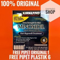 Kirkland Minoxidil For Men (Isi 6 Botol)