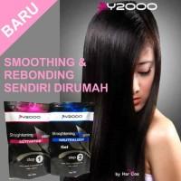 Y2000 Hair Straightening Plus System 2 X 125Ml