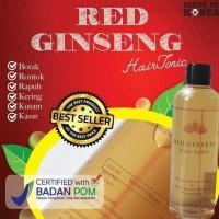 Shampoo+Hair Tonic Paket Perawatan Red Ginseng Bpom