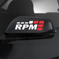 Cutting Sticker Mobil Racing Speed RPM Sticker Spion Mobil
