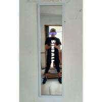 Cermin Kaca full body mirror minimalis gantung dinding