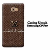 Custom Case SAMSUNG C9 PRO vuitton logo Casing Hardcase Cover