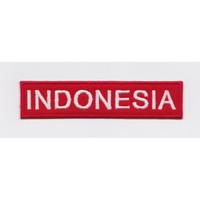 Indonesia Iron Patch 11x2.5cm Bordir Tempel Emblem Bordir