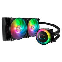 Cooler Master MasterLiquid ML240R RGB AIO CPU Cooler dual fan