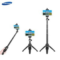 [ DISKON ] Tongsis Tripod Bluetooth Yunteng YT-9928 2 in 1 Go Pro Mini
