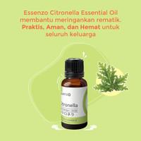 Citronella Essential Oil Essenzo 10ml (Rematik/Nyeri Otot/Sendi)