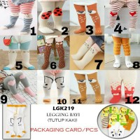 Legging Baby Bayi Perempuan Laki-Laki Gerber Animal Motif Kartun Anti
