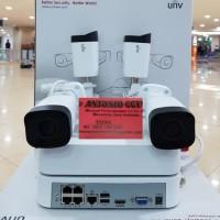 PAKET CCTV NVR KIT UNIVIEW 4 CAMERA 1080P FULL HD GARANSI 1TAHUN