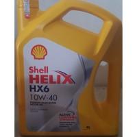 oli mobil shell hx6 sae 10w40 (4lt)