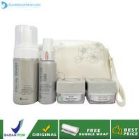 Ms Glow Paket Acne Series Free Pouch / Cream Penghilang Jerawat