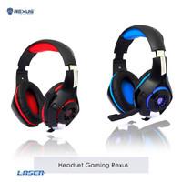 Headset Gaming - Rexus F55 Vonix with Mic LED F-55 Headphone Earphone