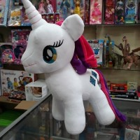 Boneka Kuda Poni MY LITTLE PONY PRINCESS TWILIGHT SPARKLE Ungu Unicorn
