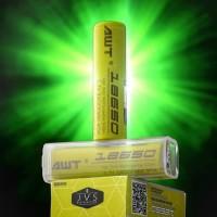 AUTHENTIC Battery 18650 AWT 3.7V 2400mAh 40A Baterai Vape Batere Vapor